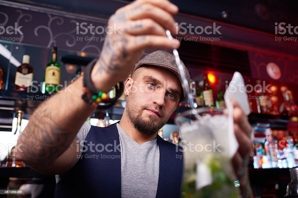 Creating a beverage stock photo