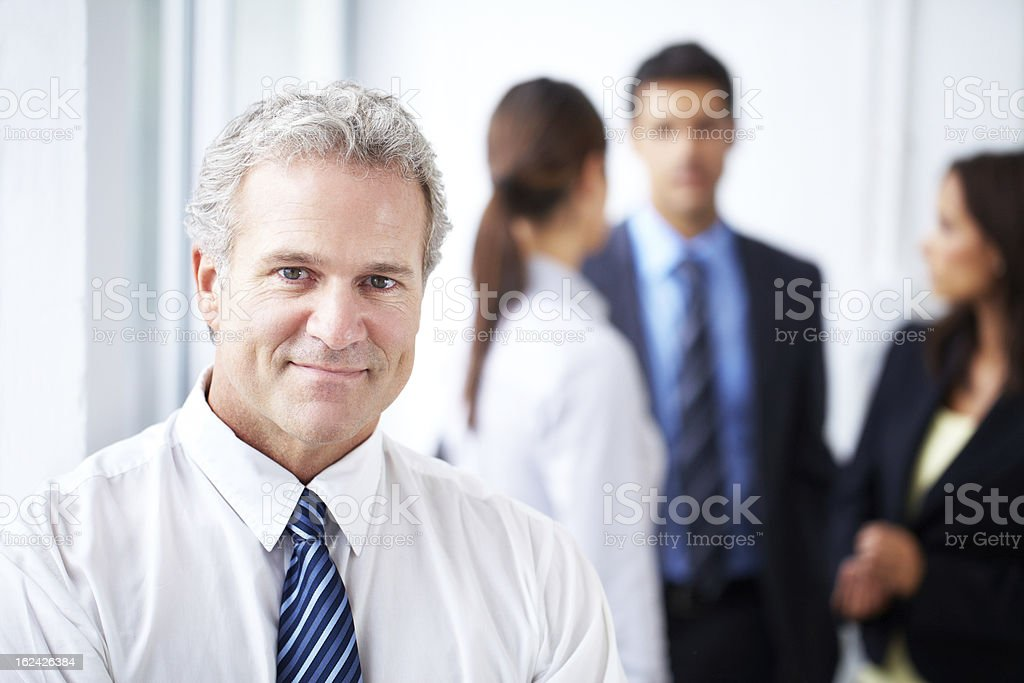Creating a pleasant work environment is paramount royalty-free stock photo