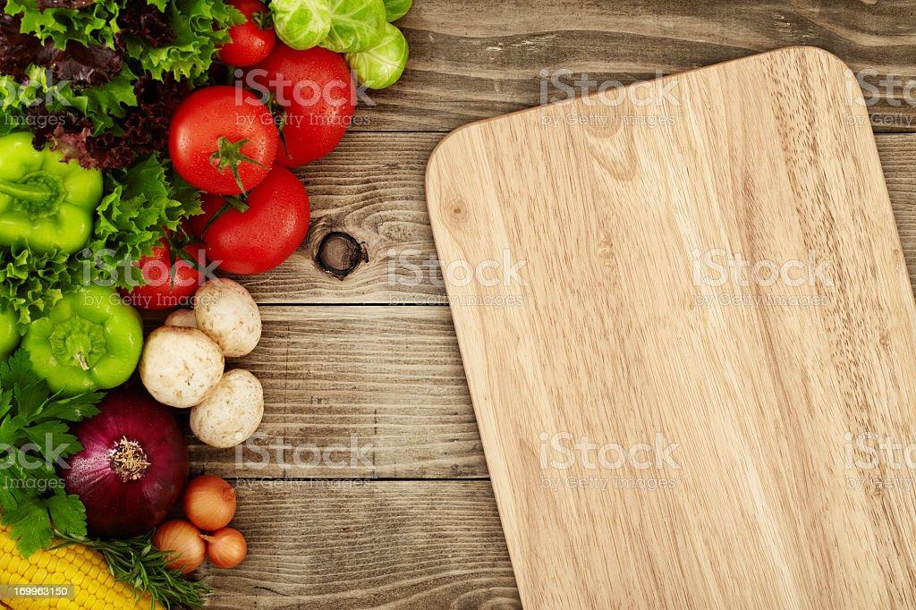 Creating a Recipe stock photo