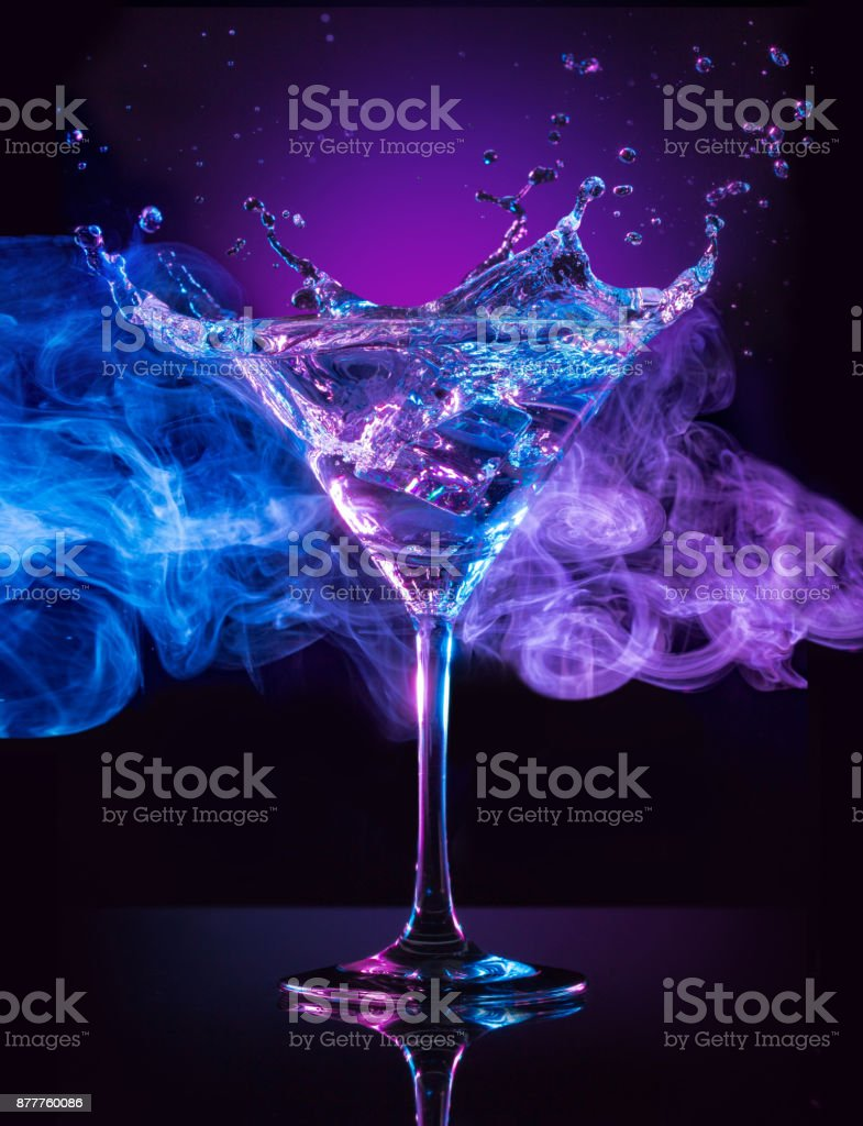 creating a signature drink stock photo