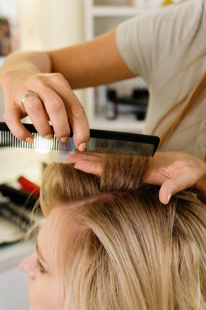 134 Back Combing Hair Stock Photos Pictures Royalty Free Images Istock