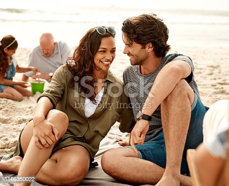 istock Creating more special moments together at the beach 1166350022