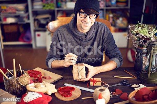 istock Creating romantic gifts 503044477