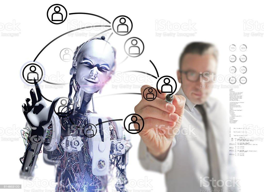 Die soziale Medien in der Zukunft – Foto