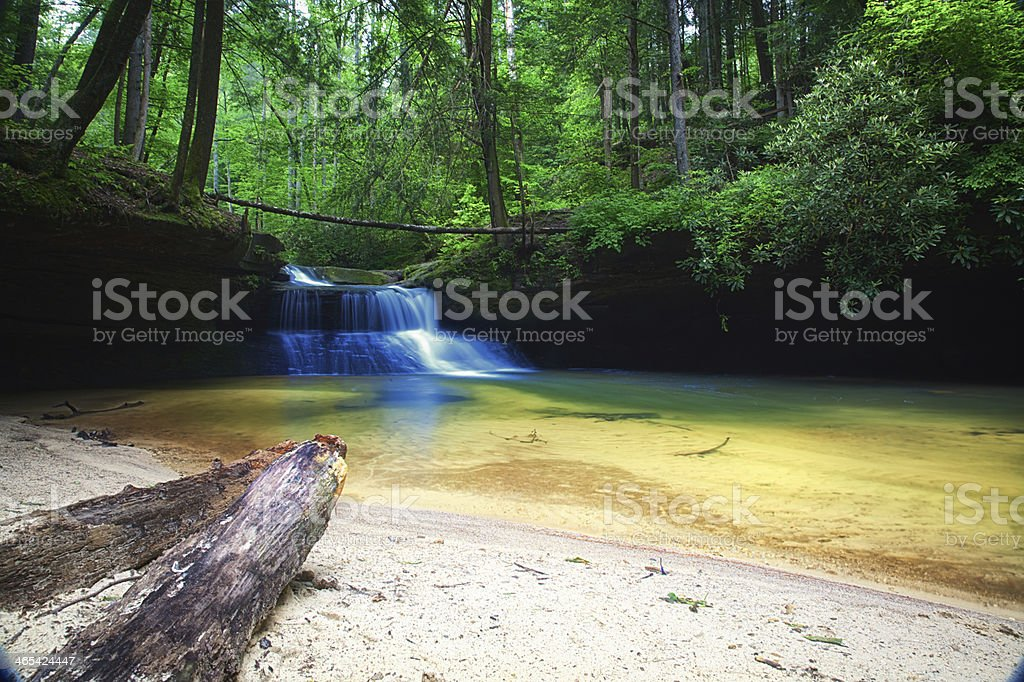 Creation Falls stock photo