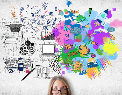 istock Creative and analytical thinking concept 638306630