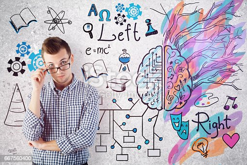 istock Creative and analytical thinking concept 667560400
