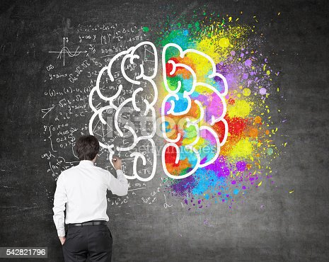 istock Creative and analytical thinking 542821796