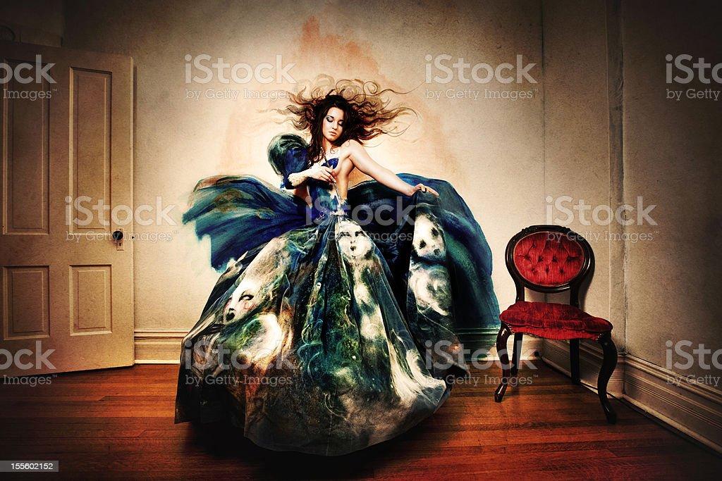 Creative Art Fashion stock photo