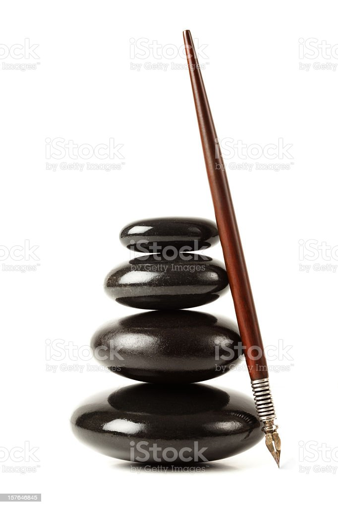 Creative balance royalty-free stock photo
