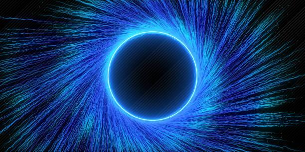 Kreative blauen Wirbel Hintergrund – Foto