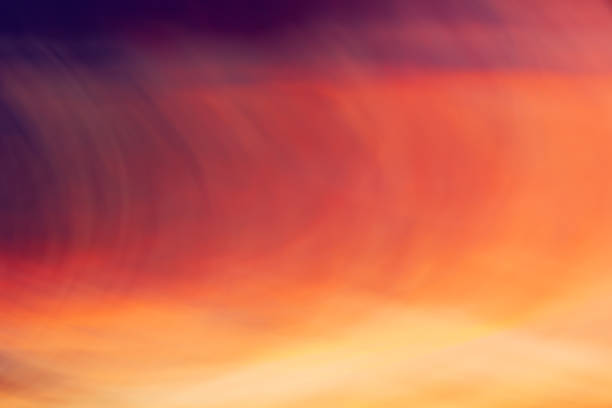 Creative blurred abstract art background of colorful pastel colors stock photo