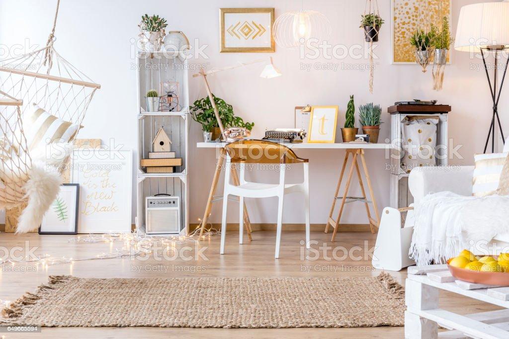 Arredamento Boho Style : Creative boho style room fotografie stock e altre immagini di