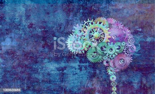 istock Creative Brain 1069635684