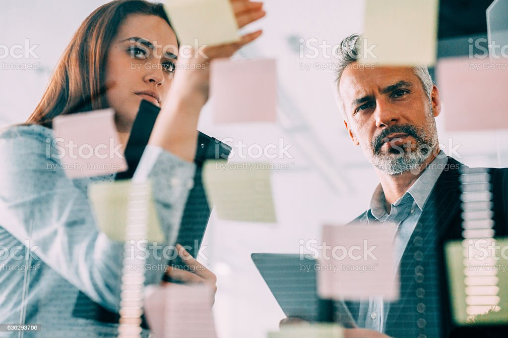 Creative business ideas stock photo