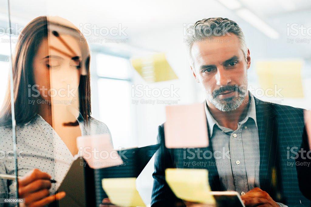 Creative business ideas stock photo