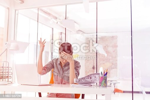 187928332 istock photo Creative business people in office 1160733724