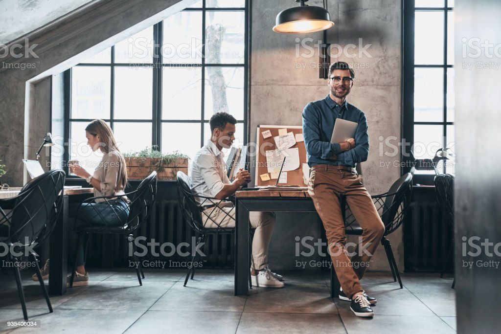 Creative business. stock photo