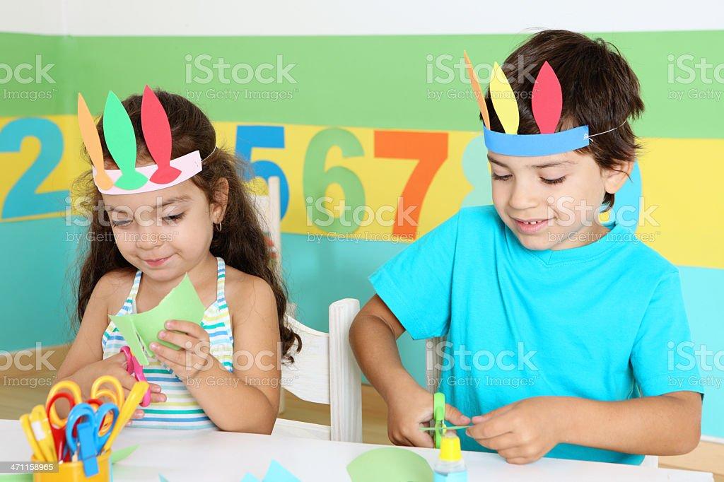 creative children royalty-free stock photo
