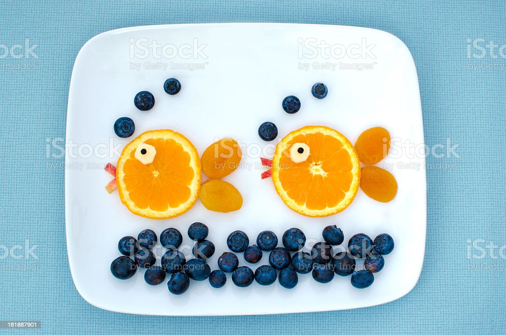 Creative children's food stock photo