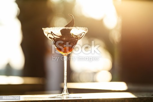 885959540istockphoto Creative chocolate dessert in the outdoor cafe 893584702