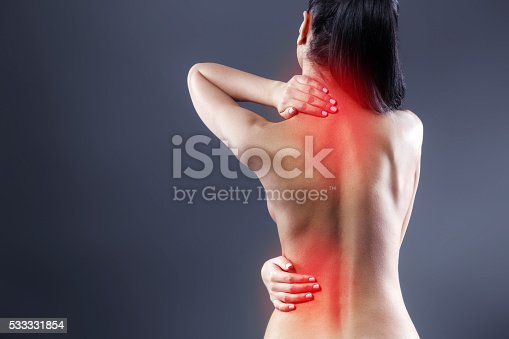istock Creative concept for body pain 533331854