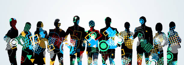 Creative concept. Group of creator. Diversity. Global business. Creative concept. Group of creator. Diversity. Global business. cultures stock pictures, royalty-free photos & images