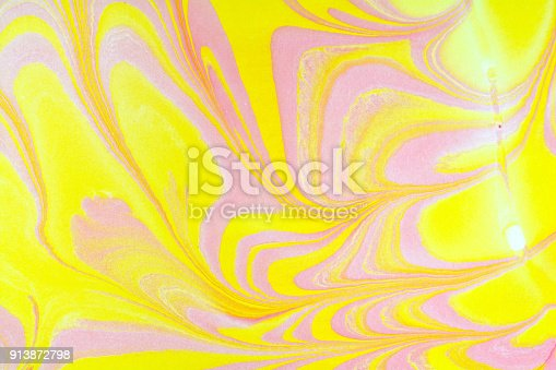 937715106istockphoto Creative ebru background with abstract acrylic painted waves. Beautiful marbling texture. Handmade marble surface. Ebru art. Traditional Turkish technique. Abstract texture. Pastel colours. 913872798