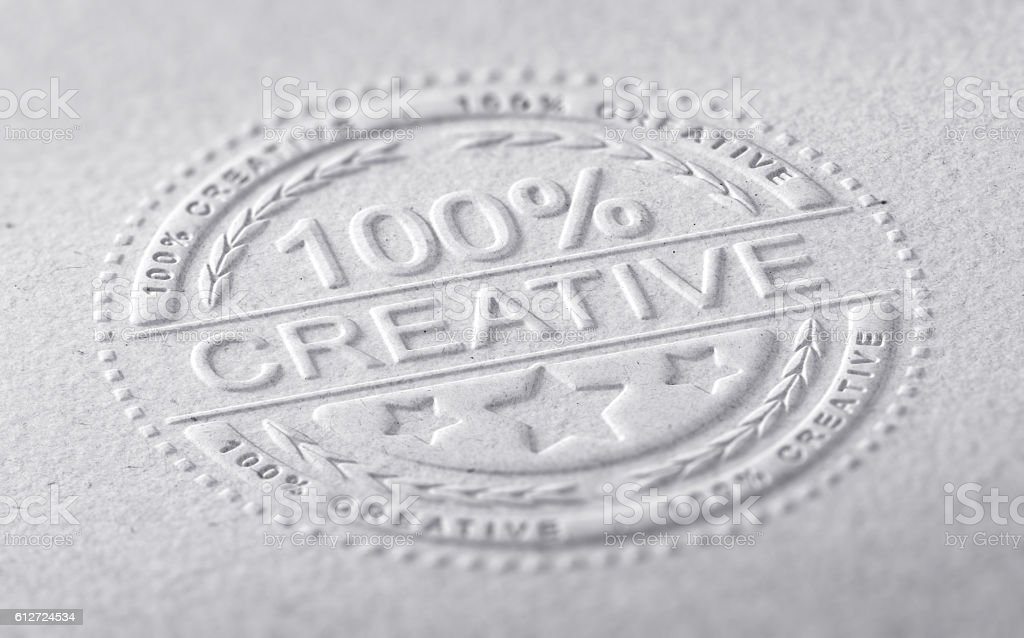 Creative Graphic Design stock photo