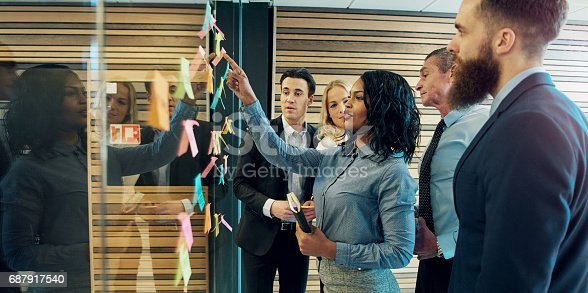 istock Creative group of business people 687917540