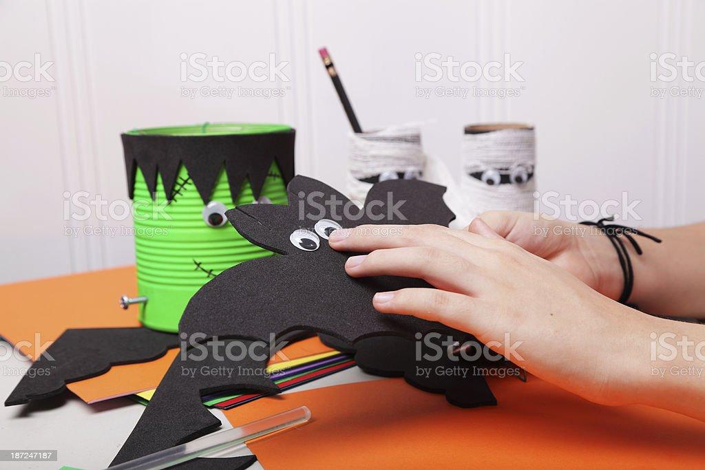 Creative Hands royalty-free stock photo