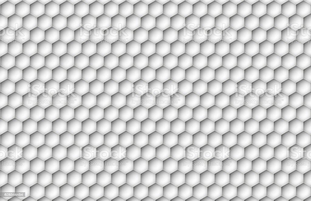 Creative Hexagon Texture stock photo