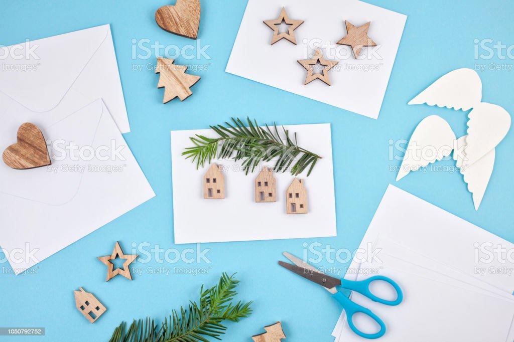 Maqueta Hobby Creativo Tarjetas De Felicitación De Navidad