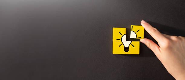 kreative idee und innovationskonzept. - scyther5 stock-fotos und bilder