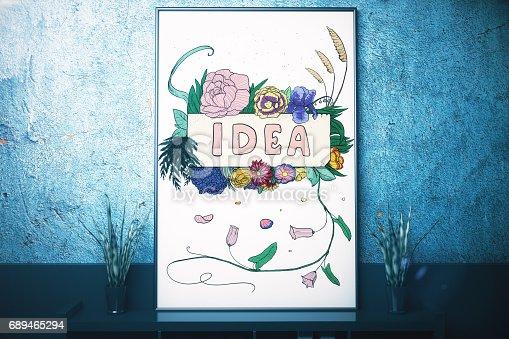 istock Creative idea concept 689465294