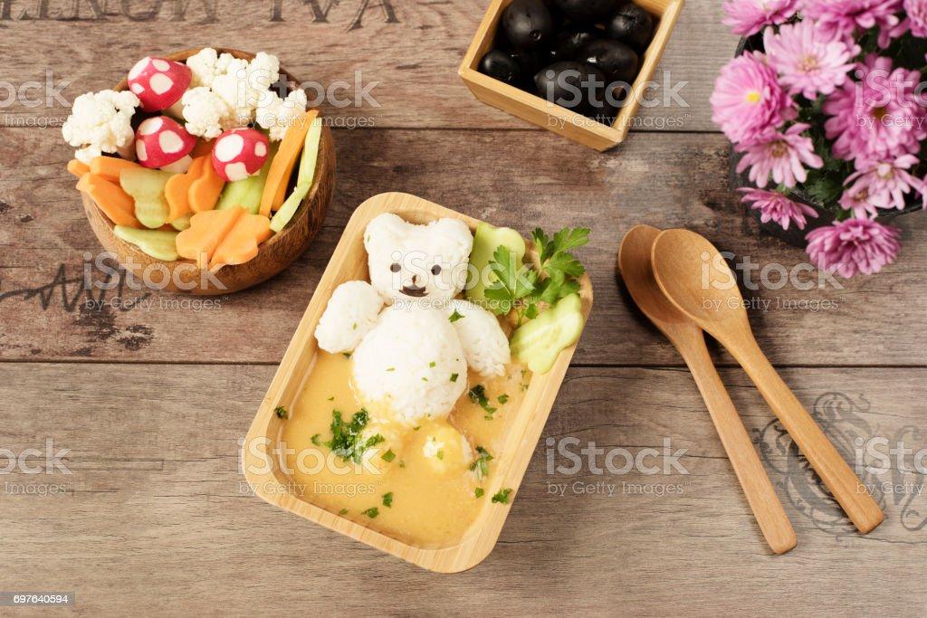 Creative Idea For Kids Lunch Or Dinner Children Animal Food Bath ...