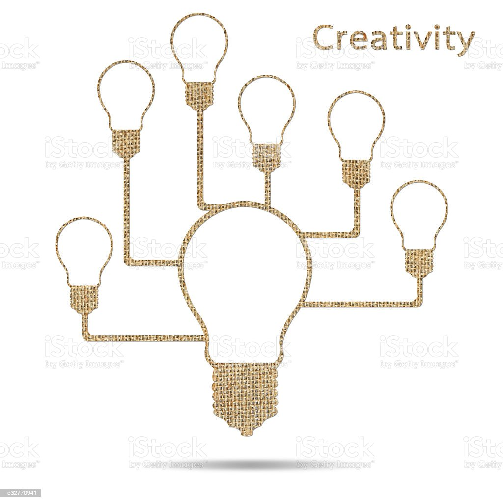 creative idea stock photo