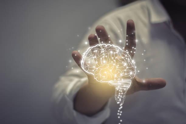 creative idea.concept of idea and innovation - percezione sensoriale foto e immagini stock