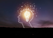 istock creative idea.Concept of idea and innovation 1066422128