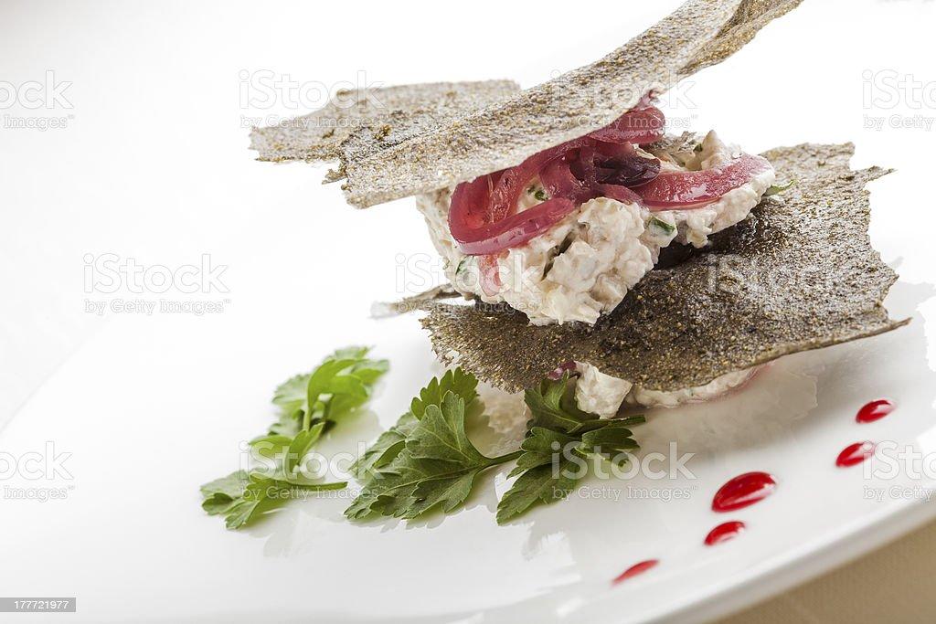 Creative Italian Cuisine royalty-free stock photo