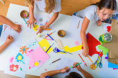 istock Creative kids. Creative Arts and Crafts Classes in After School Activities. 1172681503