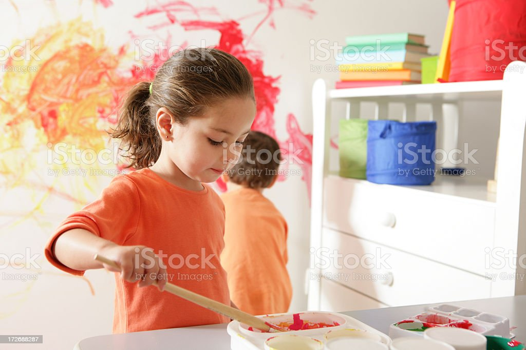 creative lesson royalty-free stock photo