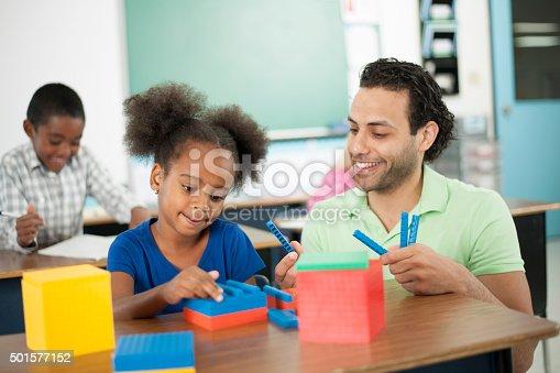 istock Creative Math Class 501577152