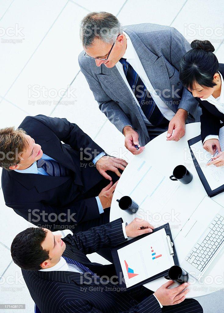 Kreative meeting Lizenzfreies stock-foto