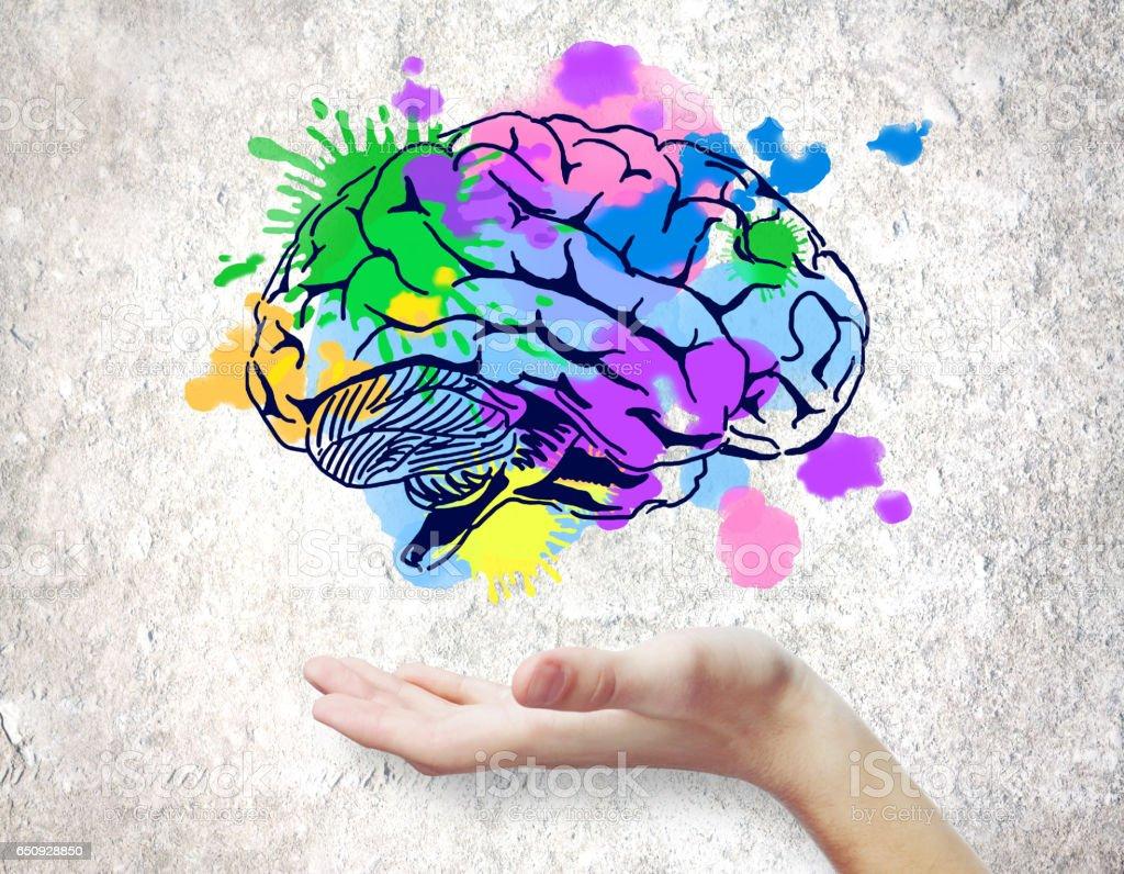 Creative mind concept foto