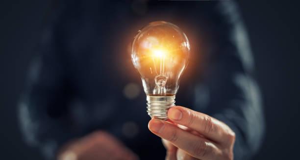kreative neue idee. innovation, brainstorming, lösungskonzepte. - scyther5 stock-fotos und bilder