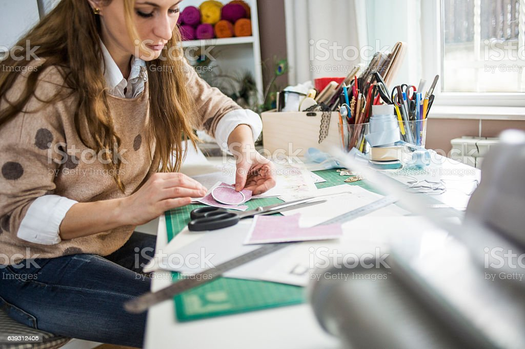 Creative occupation stock photo