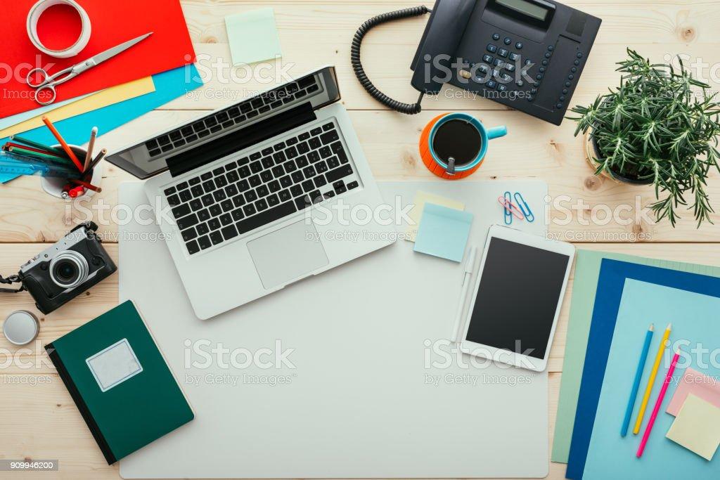 Escritório criativo - foto de acervo