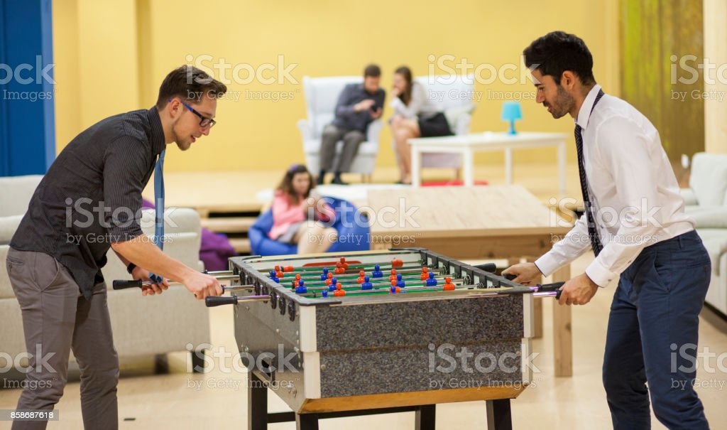 Creative office space stock photo