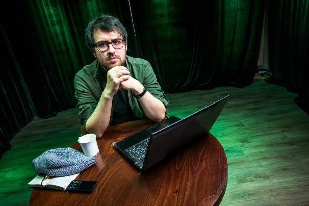 Kreative Person, Schriftsteller, Übersetzer – Foto